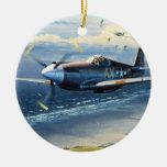 Misión sobre Normandía de Guillermo S. Phillips Adornos De Navidad