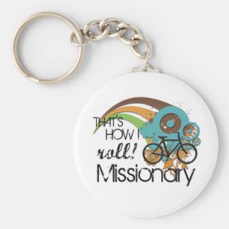 Misionario cómo ruedo llavero personalizado