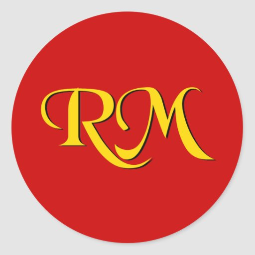 Misionario de vuelta del RM Etiquetas Redondas