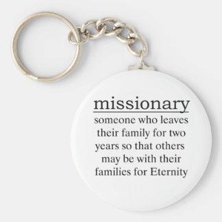 Misionario dos años llavero personalizado