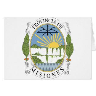 misiones Argentina Cards