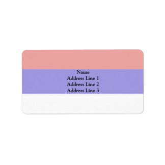 Misiones Argentina flag Personalized Address Labels