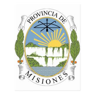misiones Argentina Post Card