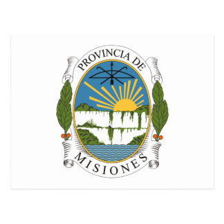 Misiones Coat of Arms Postcard