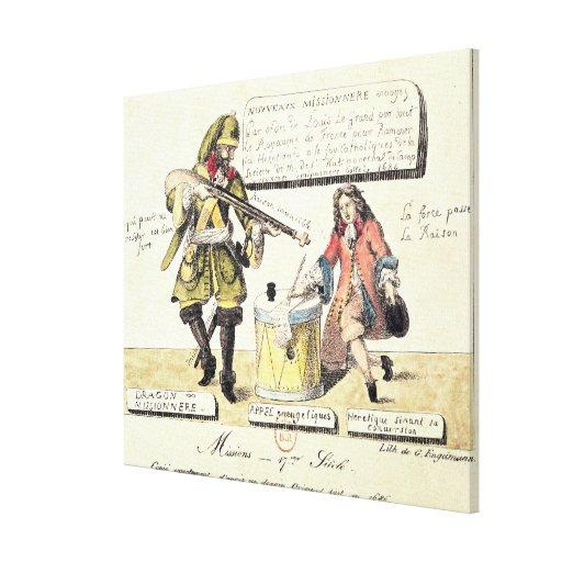 Misiones del siglo XVII Impresiones En Lona
