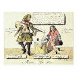 Misiones del siglo XVII Tarjeta Postal