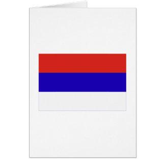 Misiones flag card