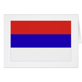 Misiones flag greeting card