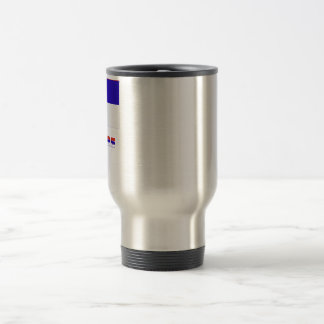Misiones flag with name travel mug