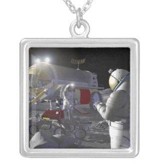 Misiones futuras 11 de la exploración espacial colgante cuadrado