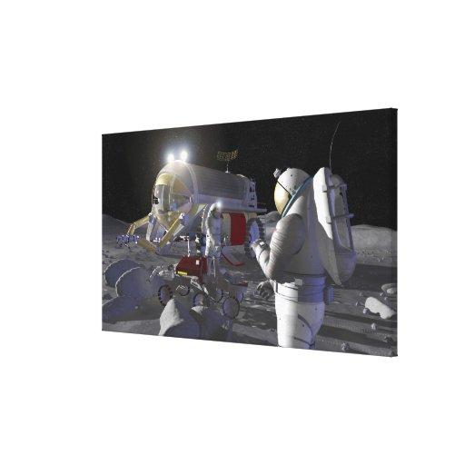 Misiones futuras 11 de la exploración espacial lona estirada galerías