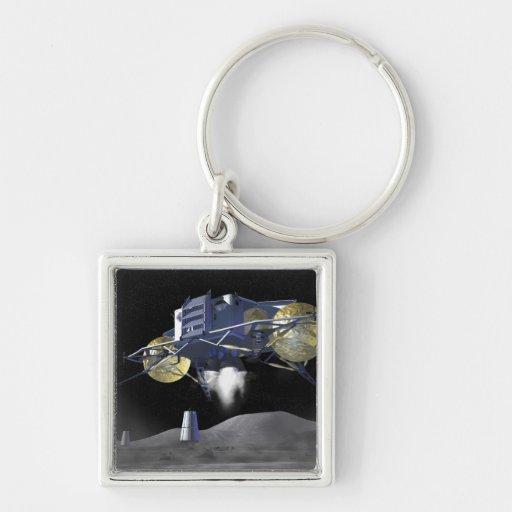 Misiones futuras 4 de la exploración espacial llavero