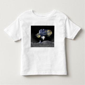 Misiones futuras 4 de la exploración espacial playera de bebé