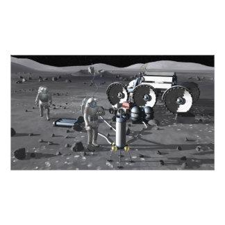 Misiones futuras 5 de la exploración espacial arte fotográfico