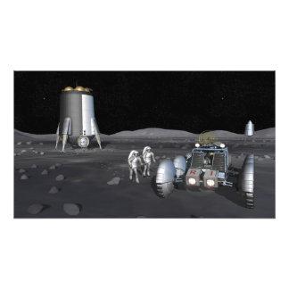 Misiones futuras 6 de la exploración espacial arte con fotos