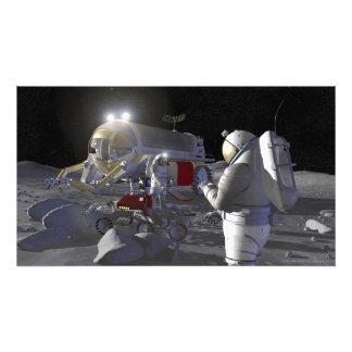 Misiones futuras de la exploración espacial impresiones fotograficas