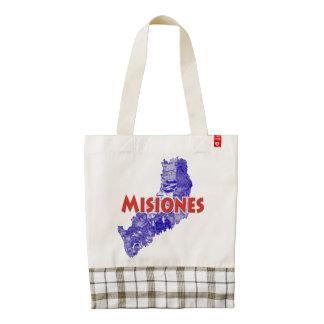 Misiones Zazzle HEART Tote Bag