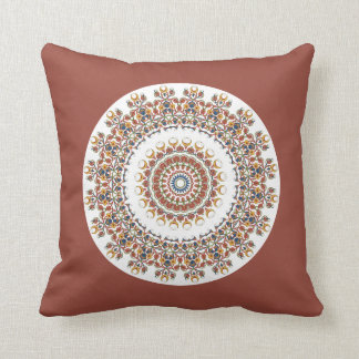 Miska Brown Mandala - Modern Pillows