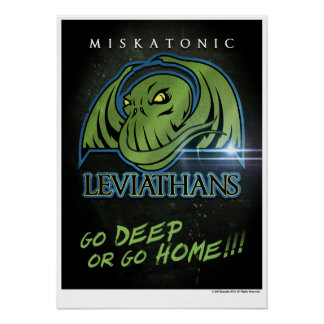 Miskatonic Leviathans Official Fan Poster