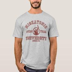 Miskatonic Swim Team T-shirt at Zazzle