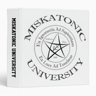 "Miskatonic University 1.5"" Binder"