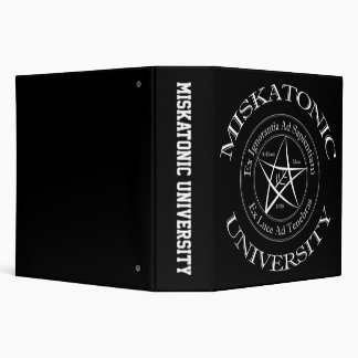 "Miskatonic University 2"" Binder"