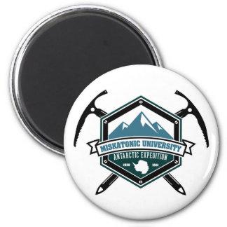 Miskatonic University Antarctic Expedition 2 Inch Round Magnet