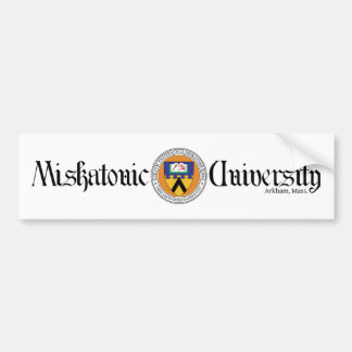 Miskatonic University Bumper Sticker