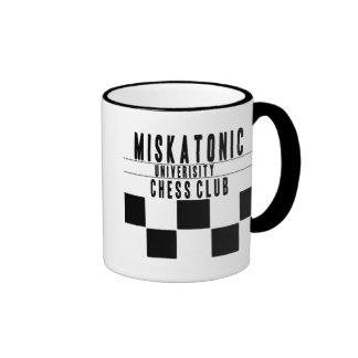 Miskatonic University Chess Club Ringer Coffee Mug