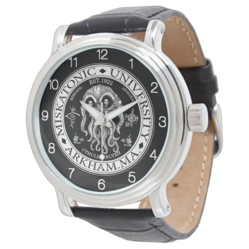 Miskatonic University CTHULHU HP LOVECRAFT Wrist Watch