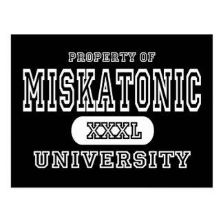 Miskatonic University Dark Postcard