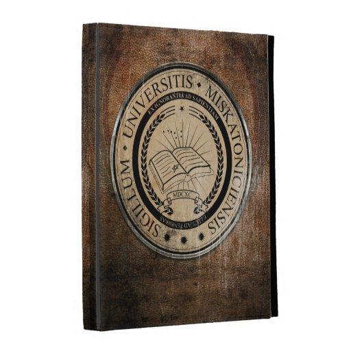 Miskatonic University iPad folio case