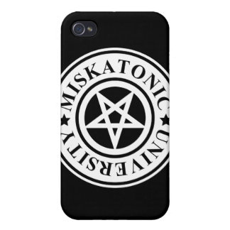 MISKATONIC UNIVERSITY iPhone 4 CASE