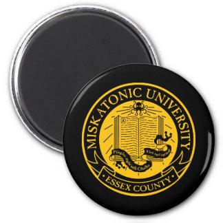 Miskatonic University 2 Inch Round Magnet