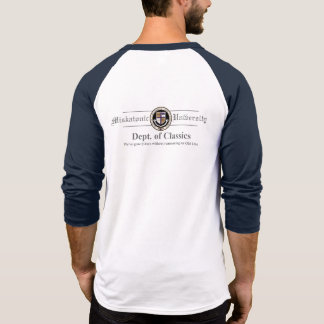 Miskatonic University Men's Raglan T-Shirt
