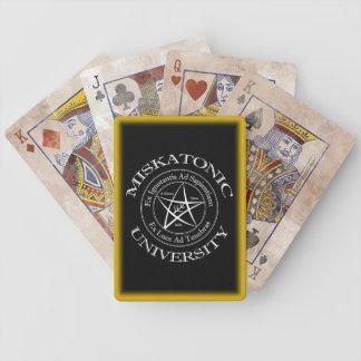 Miskatonic University Playing Cards