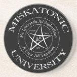 Miskatonic University Sandstone Coaster