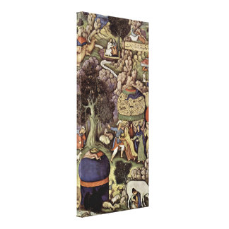 Miskin - The story of the faithless wife Canvas Print