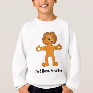 Mismo león del dibujo animado del amigo sudadera