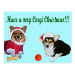 Mismo navidad M del Corgi y postal de la turquesa