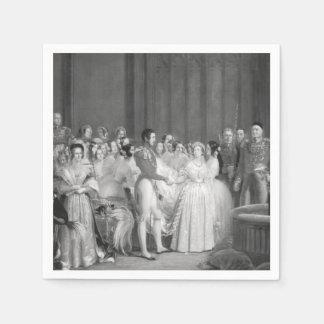 Mismo un boda del Victorian Servilletas De Papel