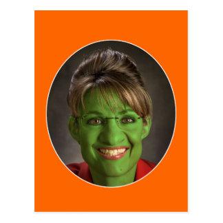 ¡Mismo un Palin Halloween Tarjetas Postales