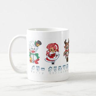 Mismo una taza del navidad de Chibi