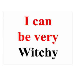 Mismo Witchy Tarjeta Postal