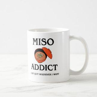 Miso Addict Classic White Coffee Mug
