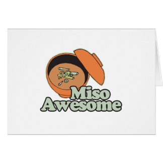 Miso Awesome Card