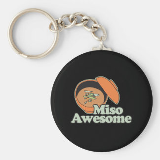 Miso Awesome Keychain