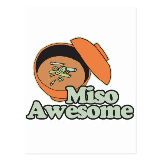Miso Awesome Post Card