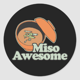 Miso Awesome Sticker