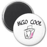 Miso Cool Fridge Magnet